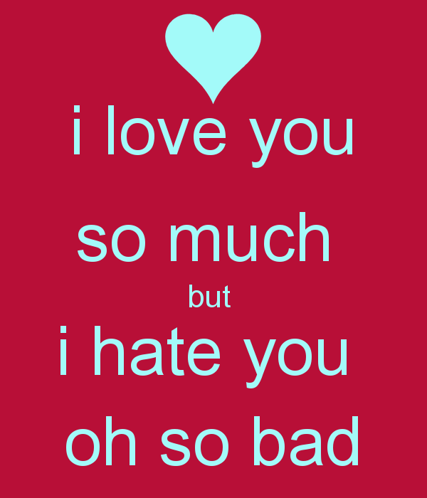 i really hate you quotes quotesgram