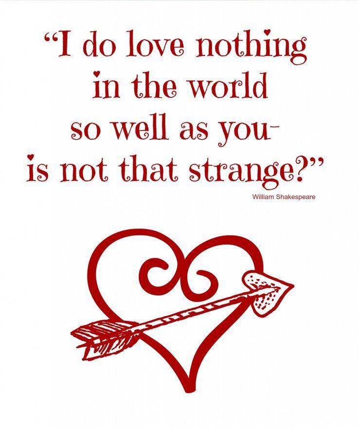 Valentine Thanks Quotes: Simple Valentine Quotes. QuotesGram
