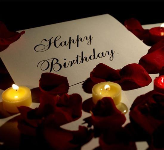 Поздравление с днем рождения романтическое мужчине