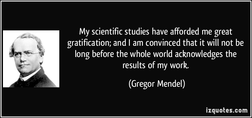 an introduction to the life of gregor mendel Gregor johann mendel was born july 20, 1822 in a region of austria that's now part of the czech republic he grew up on the family farm and worked as a gardener he also studied beekeeping.