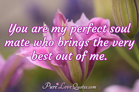 you are my soul mate quotes quotesgram