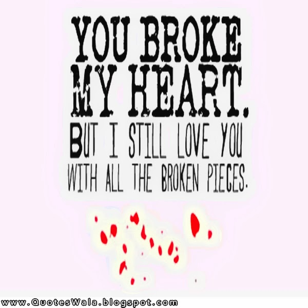 Quotes About Love And Heartbreak: Deep Quotes About Heartbreak. QuotesGram