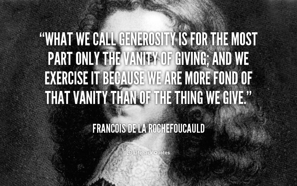 Movie Quotes For Generosity. QuotesGram