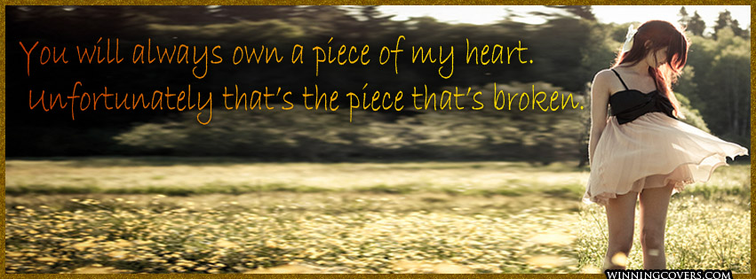 Brokenhearted Love Quotes For Facebook Cover. QuotesGram