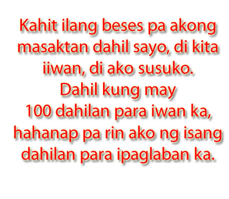 Banats Love Quotes Tagalog : Best Banat Quotes. QuotesGram