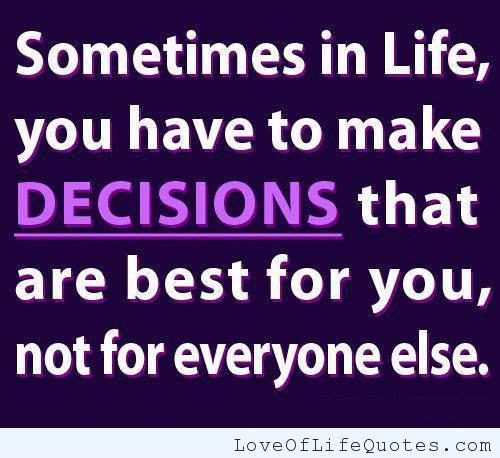 Making Decisions Quotes About Life. QuotesGram