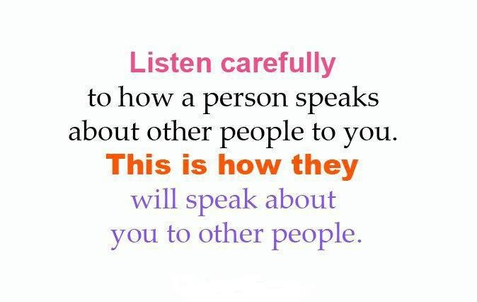 Talking Bad About Someone Quotes: Speak Kindly Quotes. QuotesGram