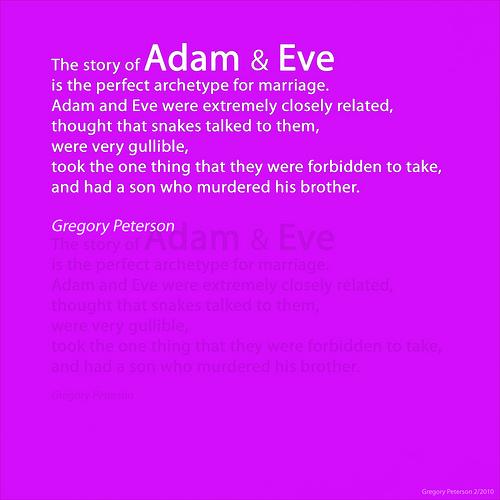 Adam And Eve Quotes. QuotesGram