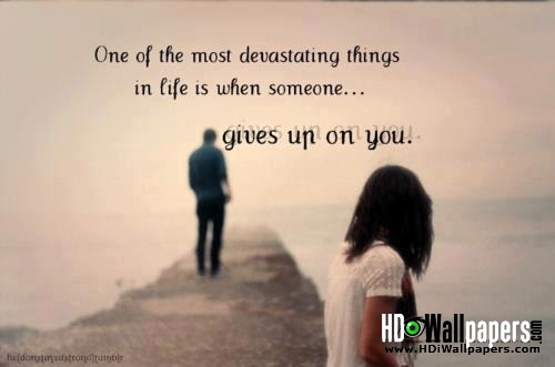 Sad Love Quotes Wallpaper For Him : Sad Love Quotes For Him From The Heart. QuotesGram