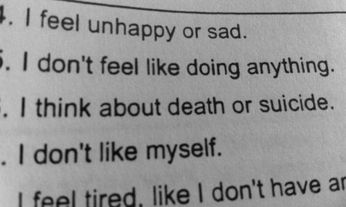 Sad Depressing Quotes Suicidal