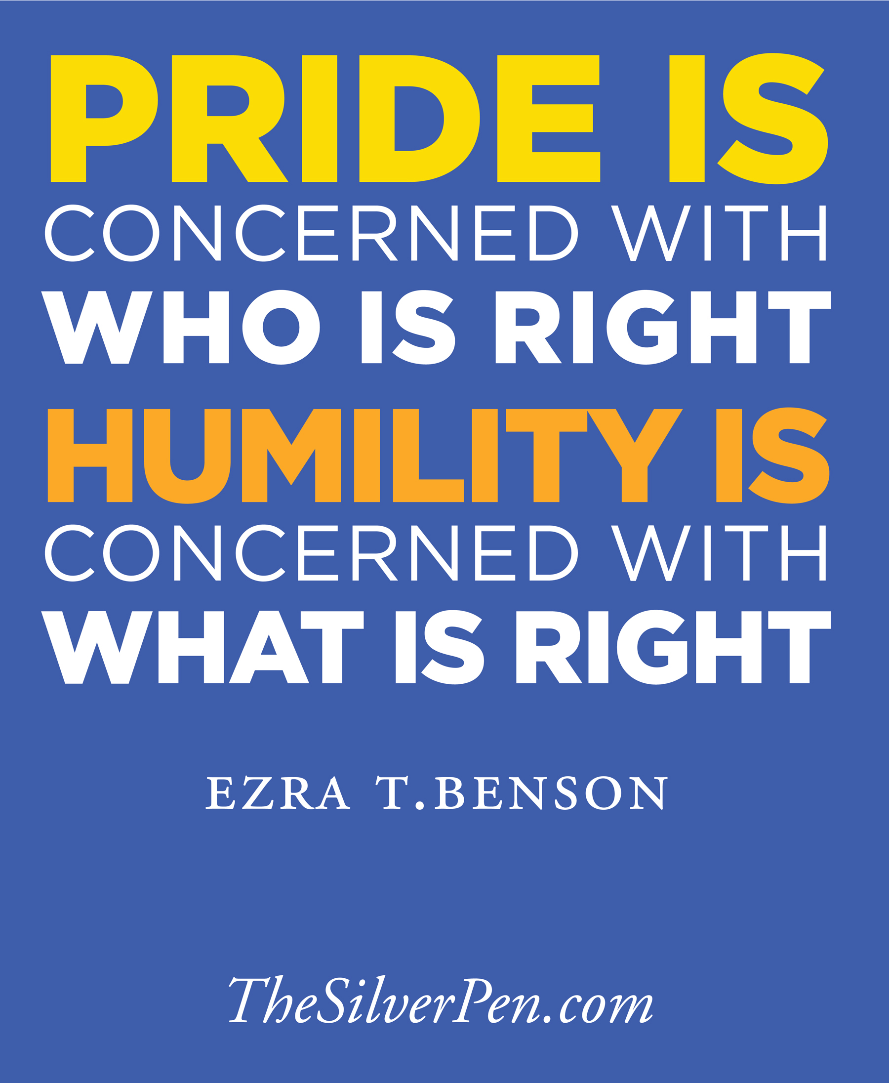 Love And Pride Quotes Sayings: Pride And Humility Quotes. QuotesGram