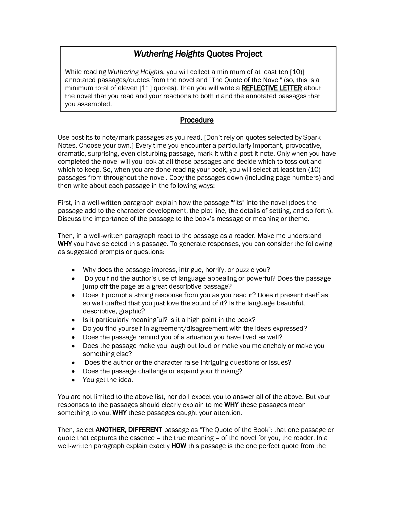 wuthering heights essay on setting For wuthering heights essay prompts and (essay #3: setting) wuthering heights is particularly notable for scoring guidelines for wuthering heights essays.