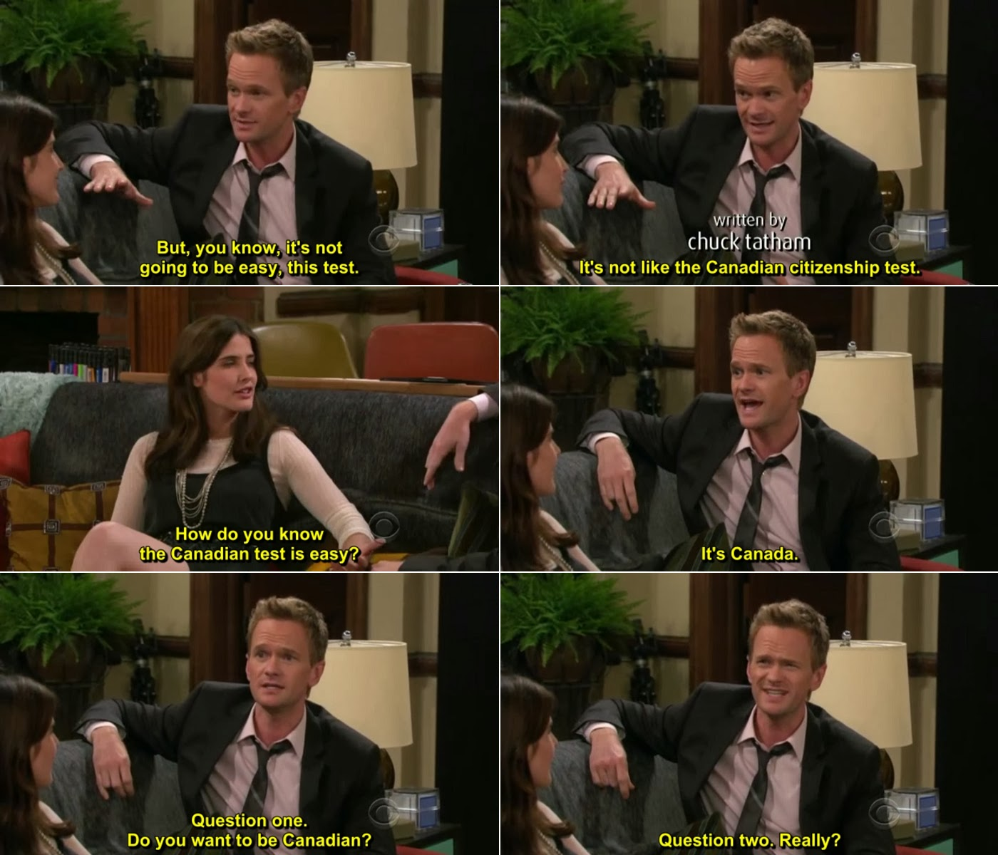How I Met Your Mother Robin And Barney Quotes