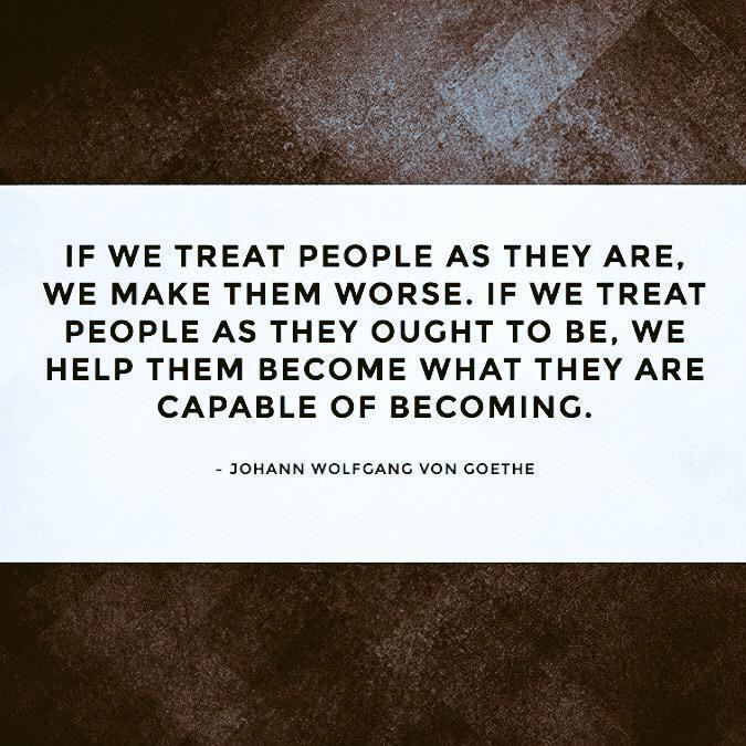 Goethe Quotes About Love: Treat People Goethe Quotes. QuotesGram
