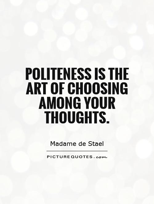 What is Politeness?