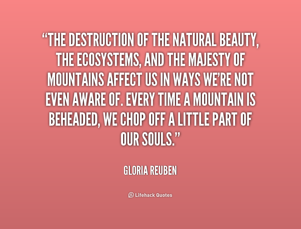 Quotes About Natures Beauty