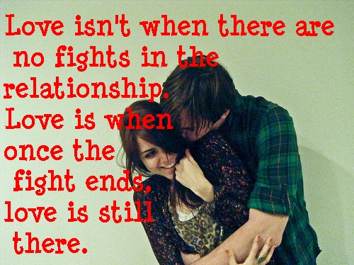 Love Quotes Couple Fight. QuotesGram
