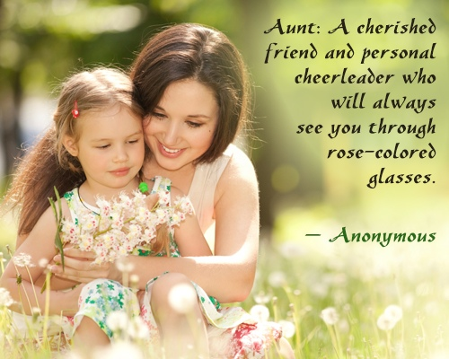 quotes for a niece and aunt relationship
