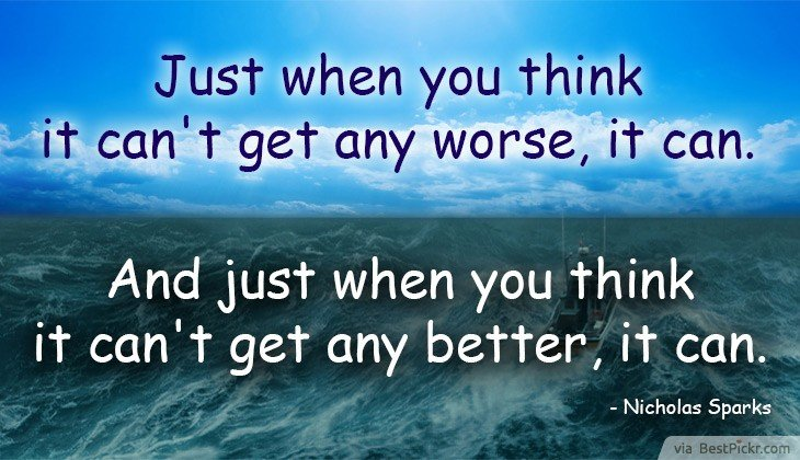 Ocean Quotes And Sayings Life Is Unpredictable ...