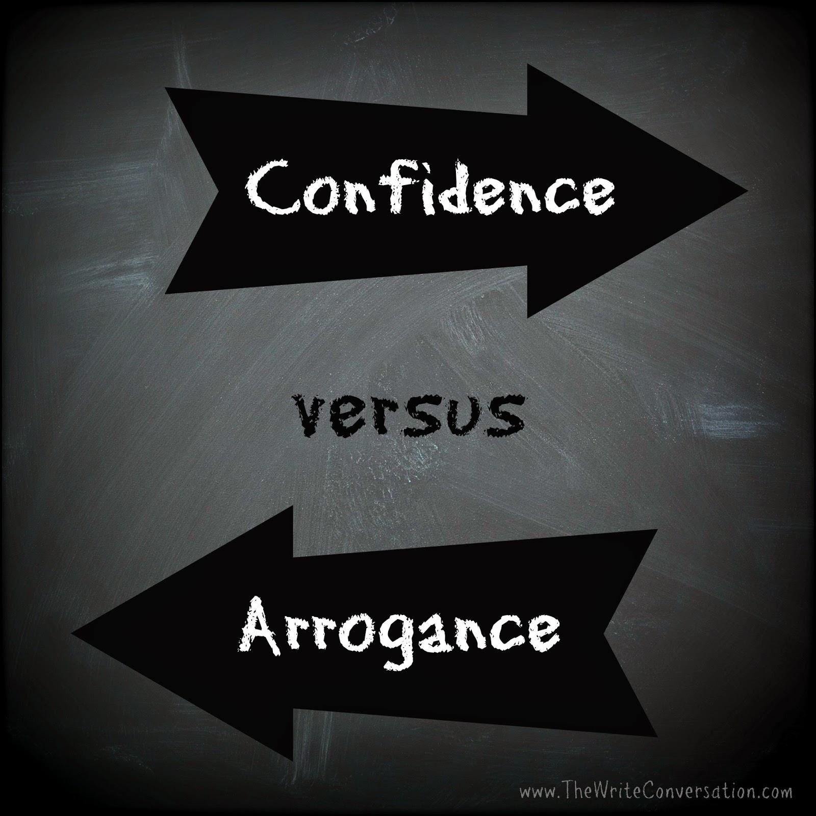 Confidence Vs Arrogance Quotes. QuotesGram