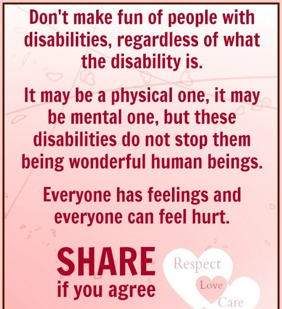 Inspirational Quotes About Positive: Quotes About People With Disabilities. QuotesGram