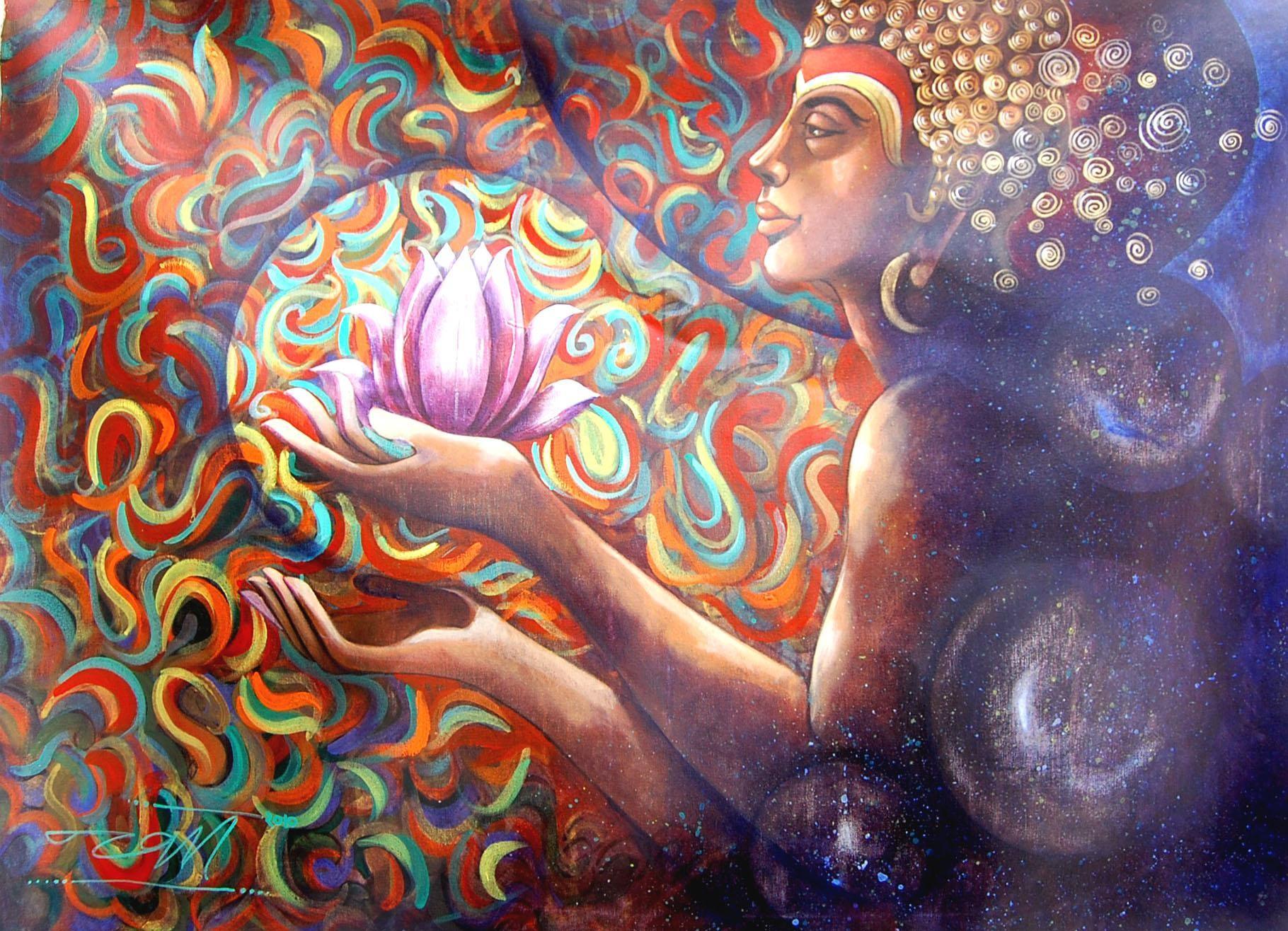 Lotus Flower Buddha Quotes Quotesgram