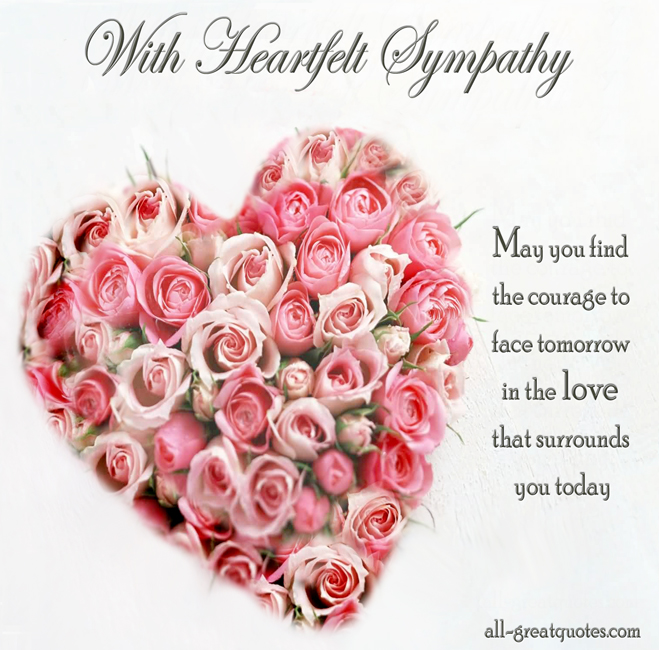 Heartfelt Condolences Quotes Quotesgram