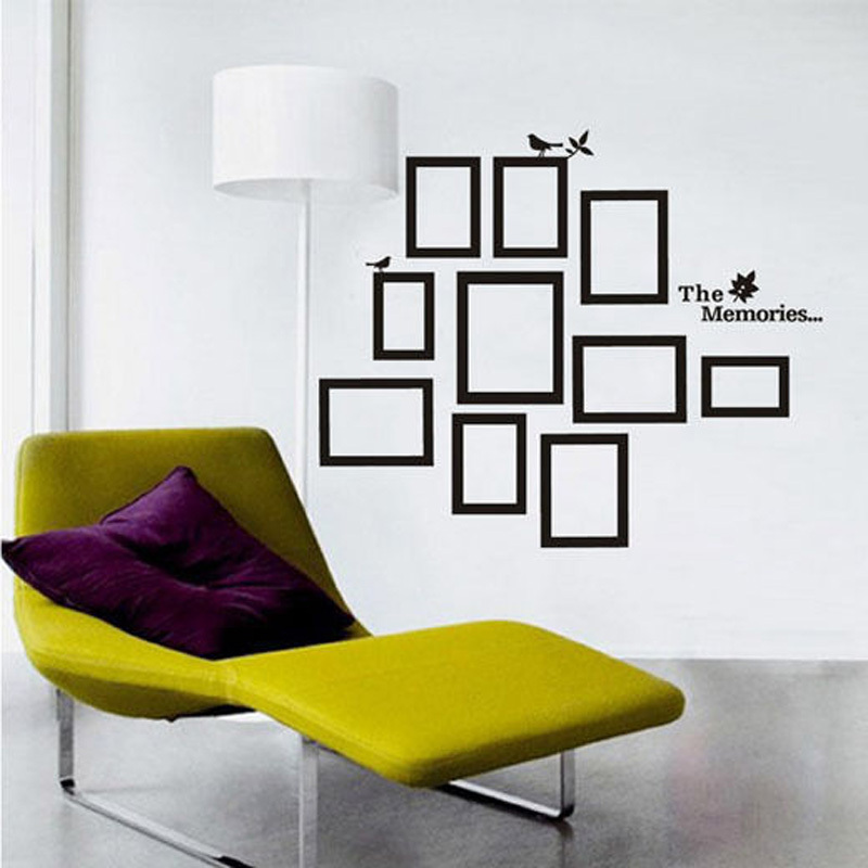 Living room wall decals quotes quotesgram for Bedroom wall frames