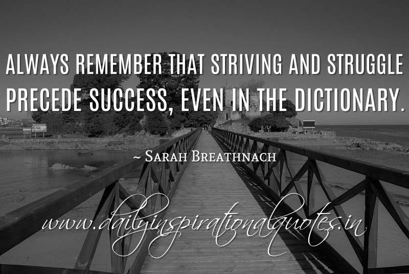 Strive Struggle Quotes. QuotesGram