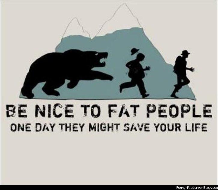 People mean jokes fat Best fat