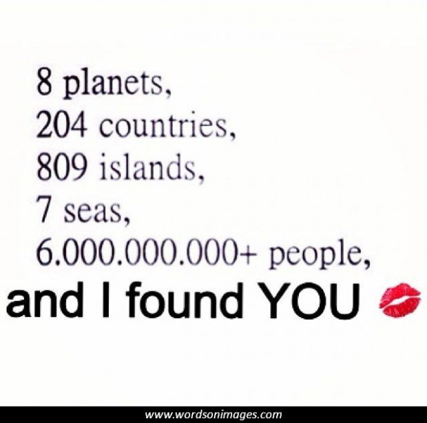 I Found The Love Quotes: Lucky I Found You Quotes. QuotesGram