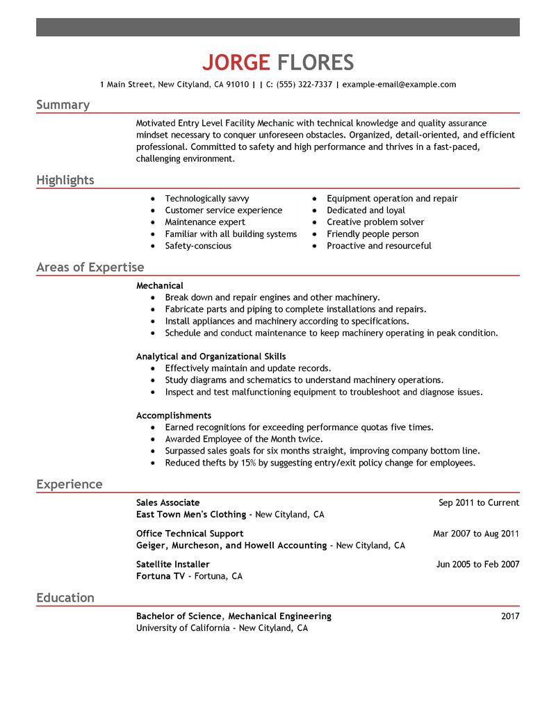 entry level engineer resume entry level software engineer resume images about best mechanical engineer resume templates