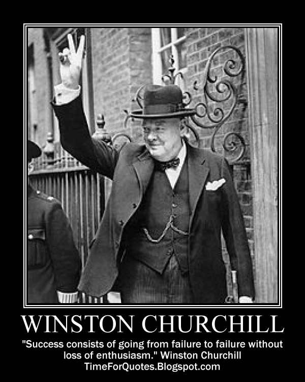 Winston Churchill Quote On Failure: Churchill Quotes. QuotesGram