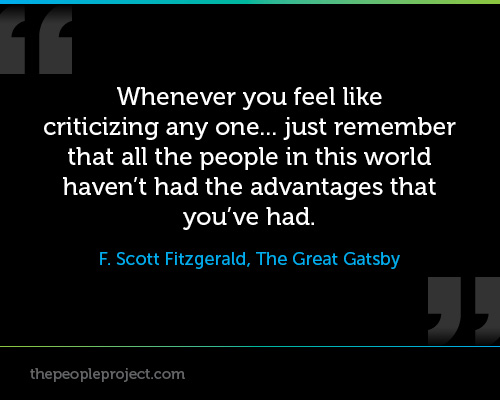 adversity in the great gatsby The theme of optimism in the great gatsby is certainly tied to jay gatsby the  fact that the character who achieves the biggest fraud is also the character who .
