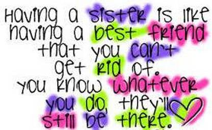 Sister Quotes And Sayings Quotesgram