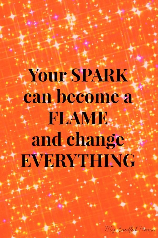 Spark To Flame Quotes. QuotesGram