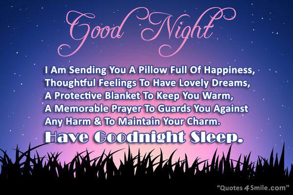 Good Night Wishes Quotes Quotesgram