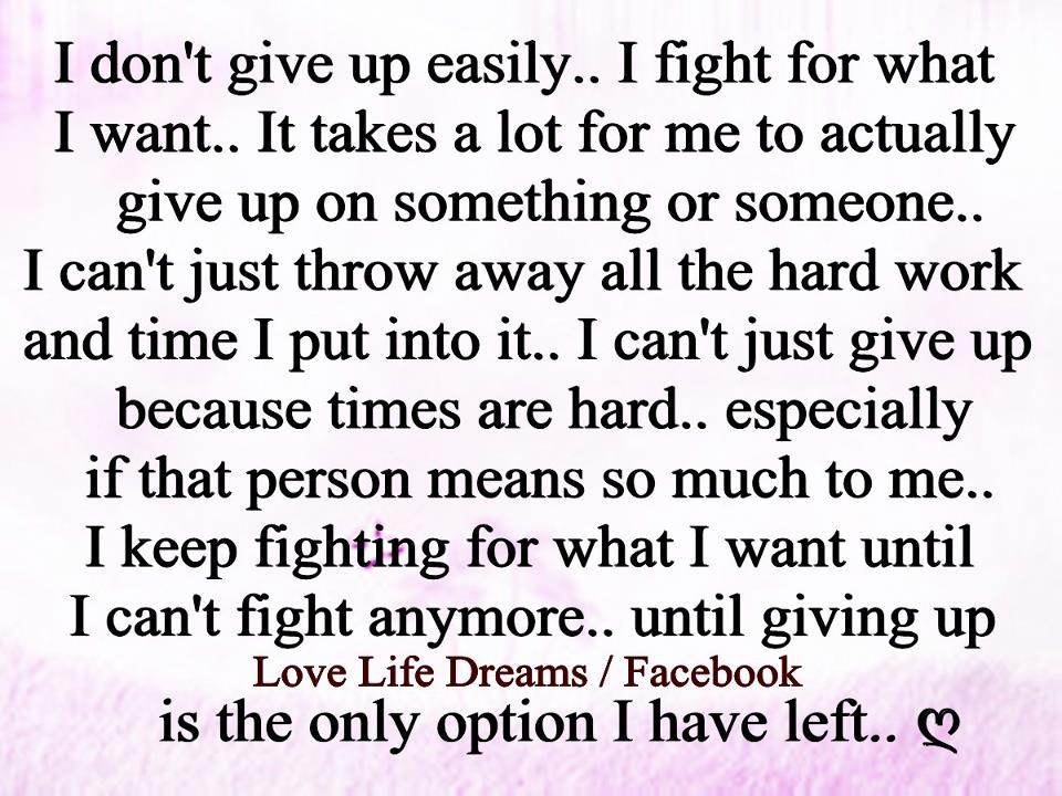 im giving up on life quotes - photo #33