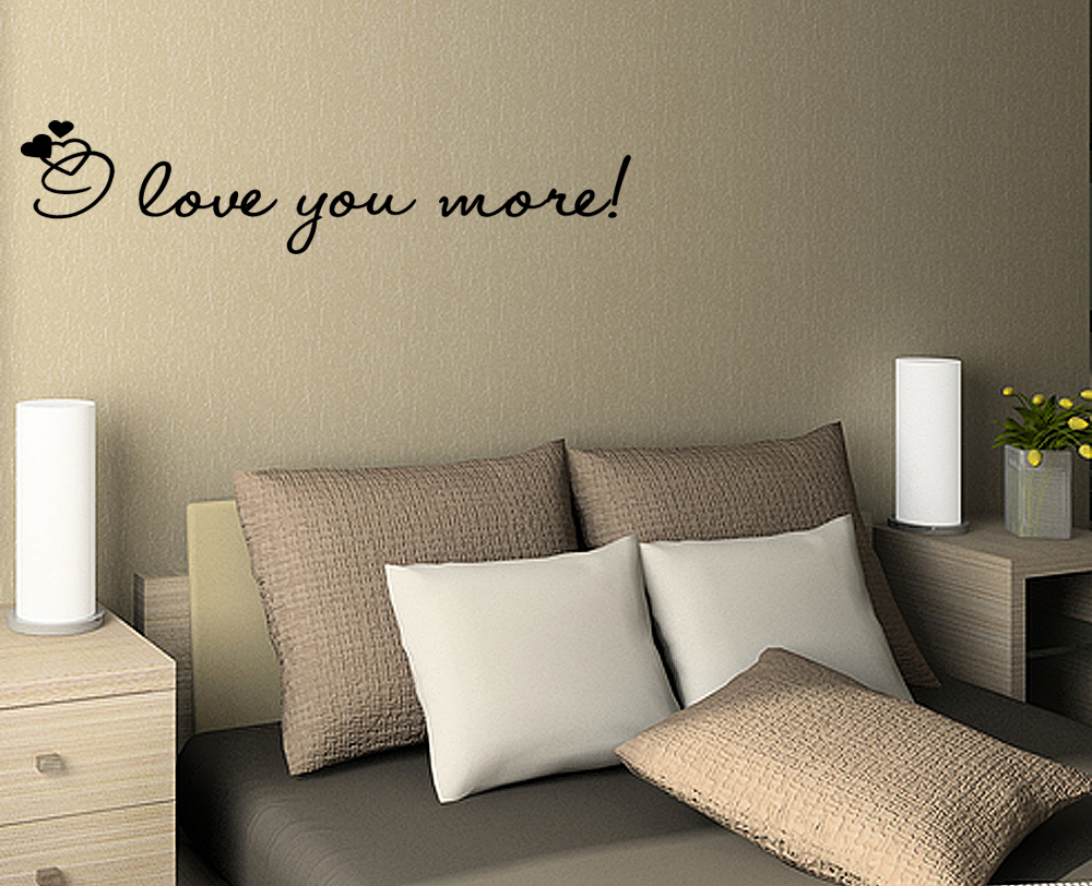 bedroom vinyl wall quotes quotesgram