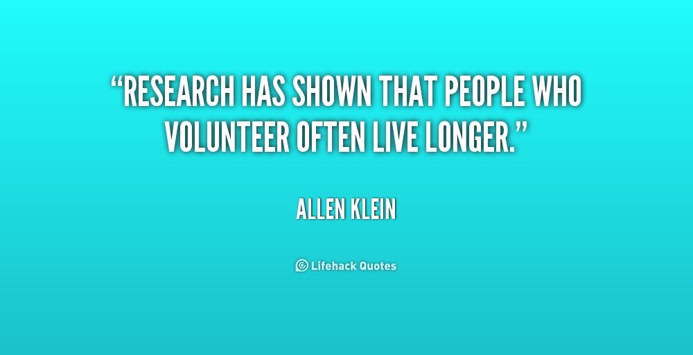 Volunteer Quotes By Famous People Quotesgram