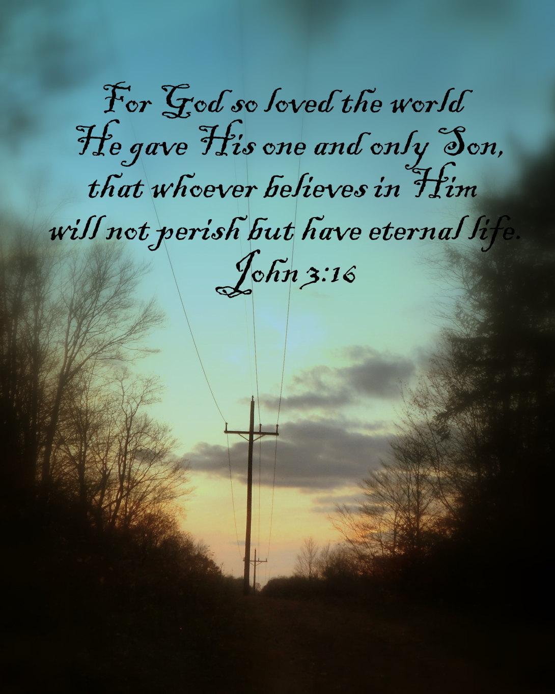 Bible Quotes John 3 16 Quotesgram