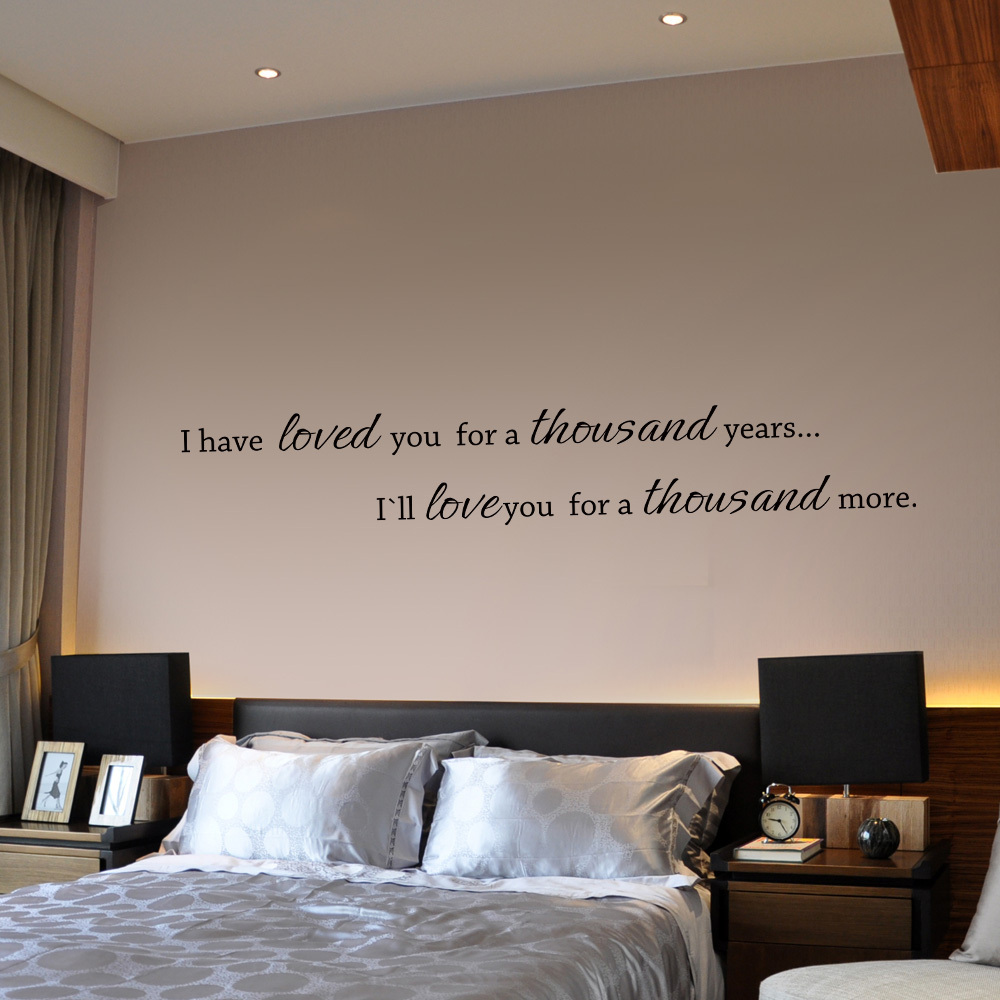 wall quotes for bedroom bedroom quotes quotesgram 17756