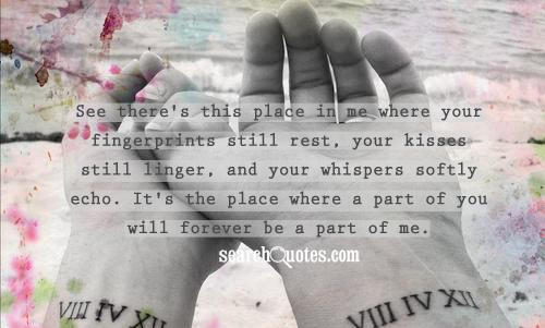 Missing Your Kiss Quotes