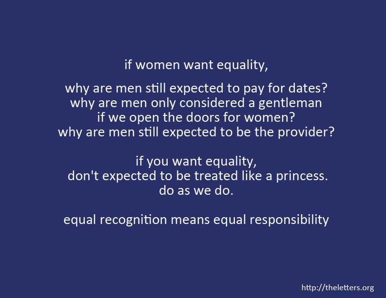 equality with women in policing annotated