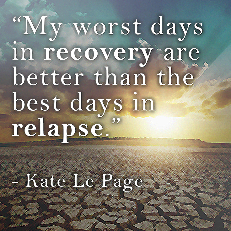Inspirational Quotes About Positive: Relapse Prevention For Inspirational Quotes. QuotesGram