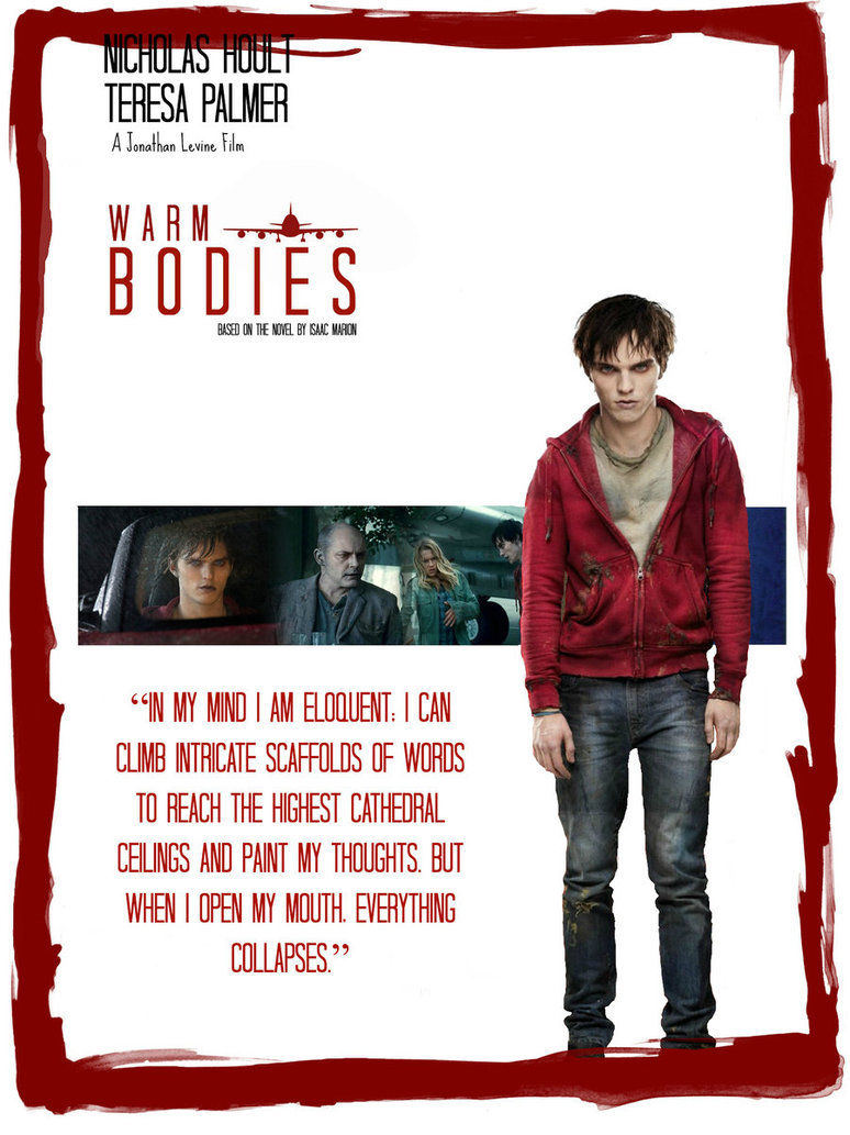 Warm Bodies Quotes Warm Bodies Novel Quot...