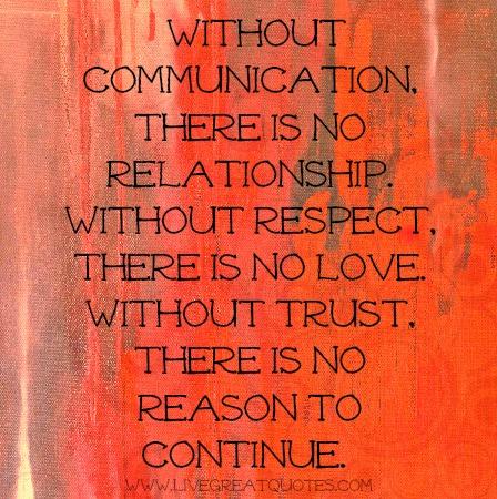 how to communicate in a relationship essay Having a positive parent-teacher relationship contributes to your child's school success  the parent-teacher partnership.