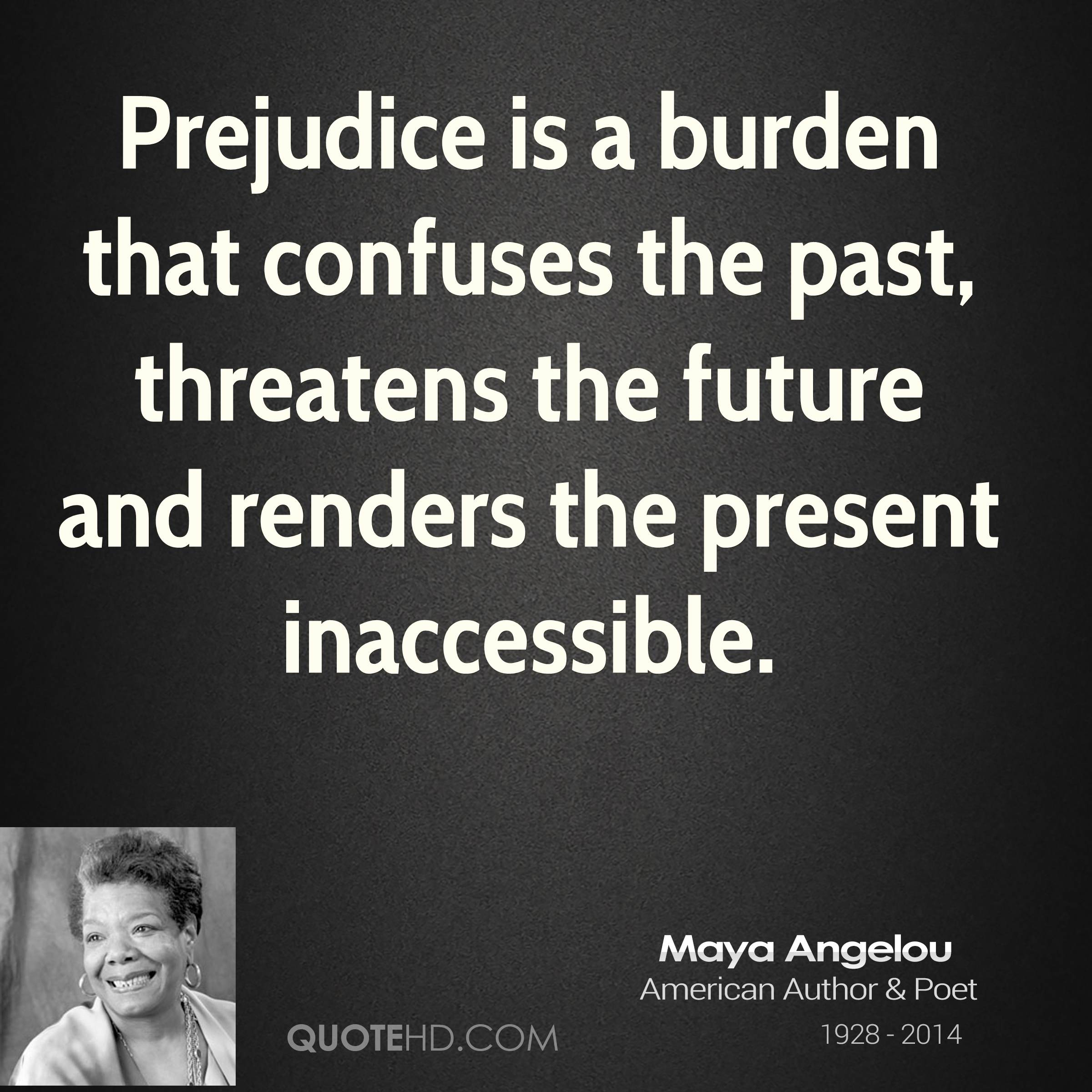 Maya angelou and racism