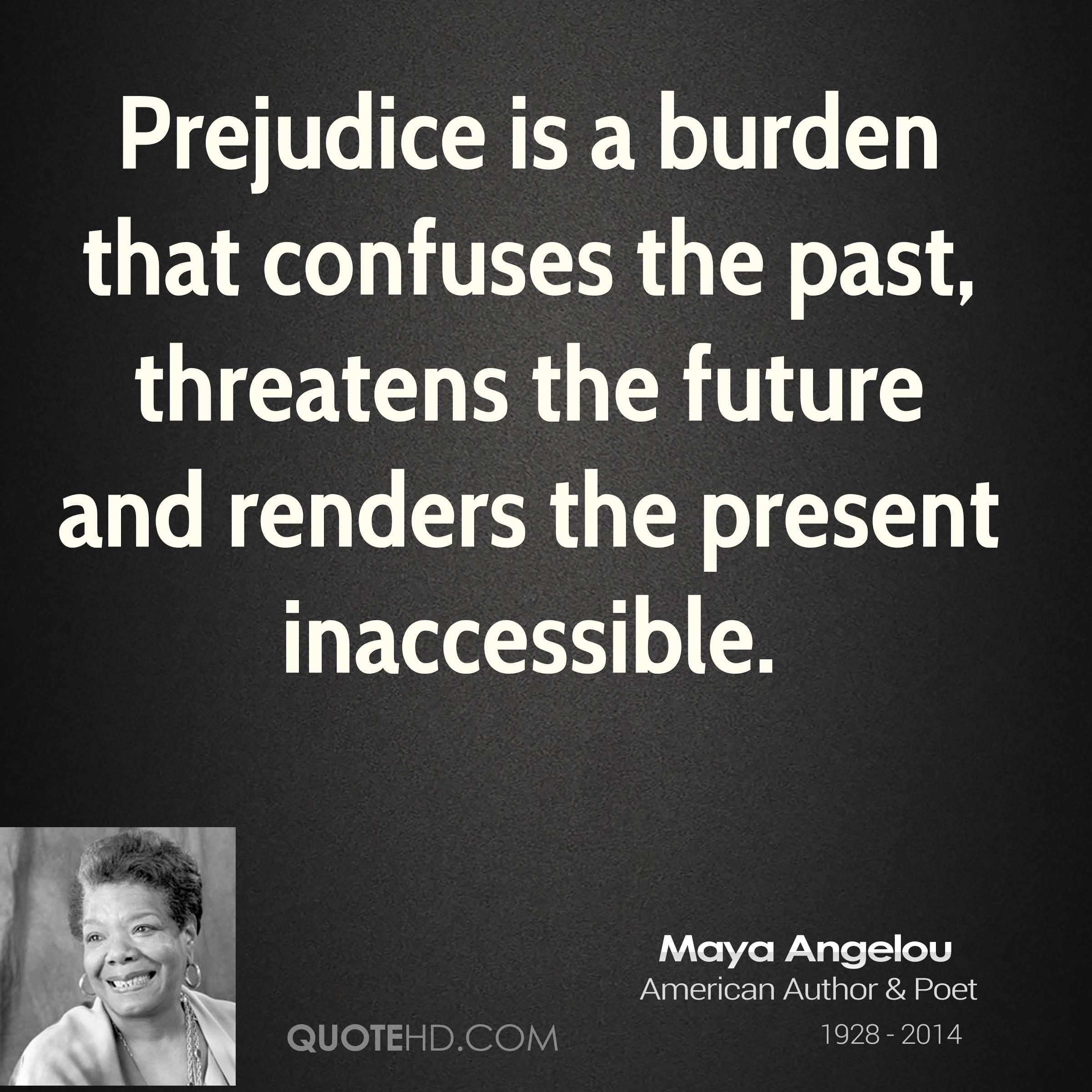 Maya angelou and racism