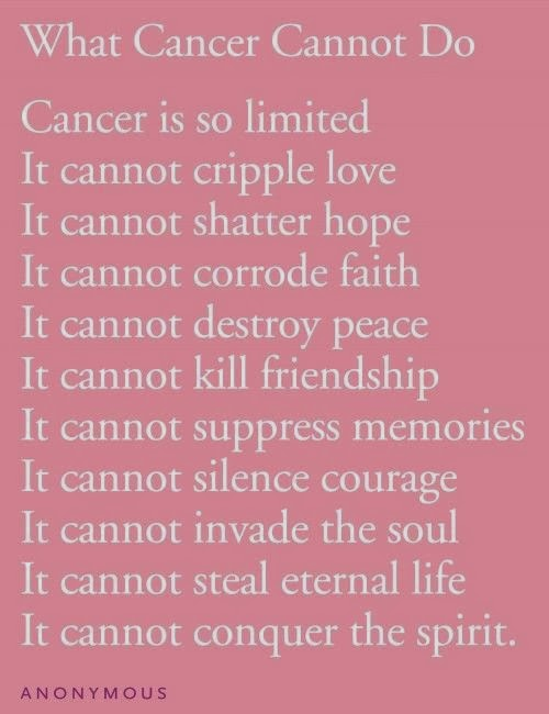 losing someone to cancer essay example Free narrative essay example on my mother i started to understand all those people who lost someone they when my family and i found out she had cancer.